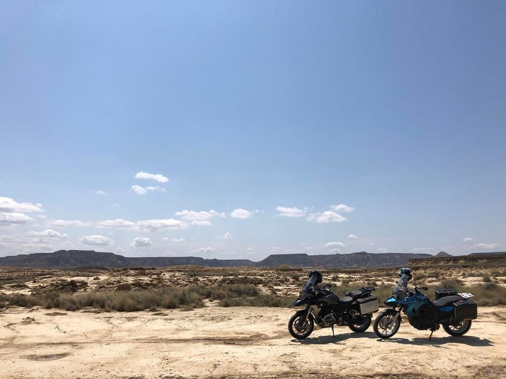 Splodz Blogz   Motorbikes in Spain - Bardenas Reales