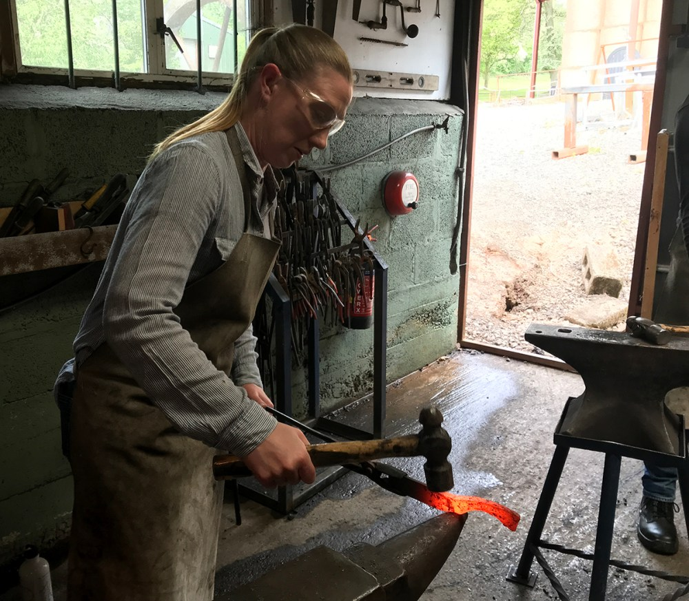 Splodz Blogz | Knife forging at Oldfield Forge