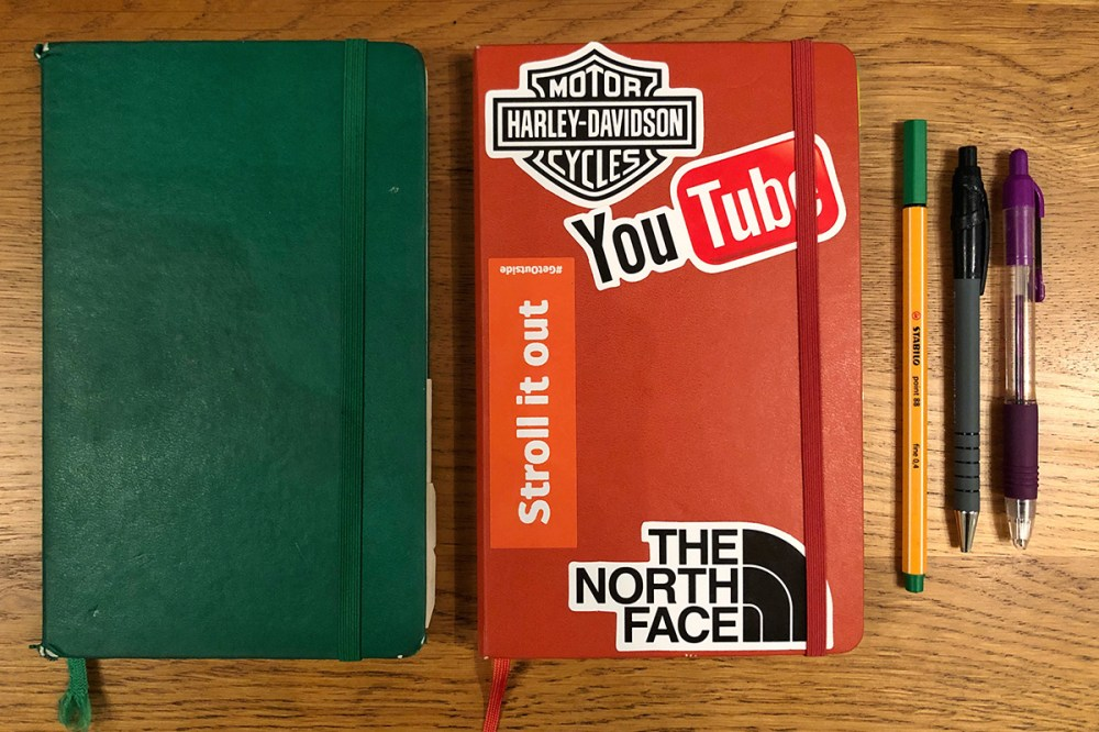 Splodz Blogz | Moleskine Squared Notebook Journal