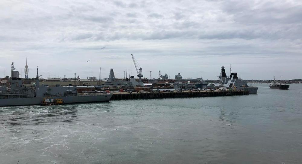 Splodz Blogz | Portsmouth Naval Base