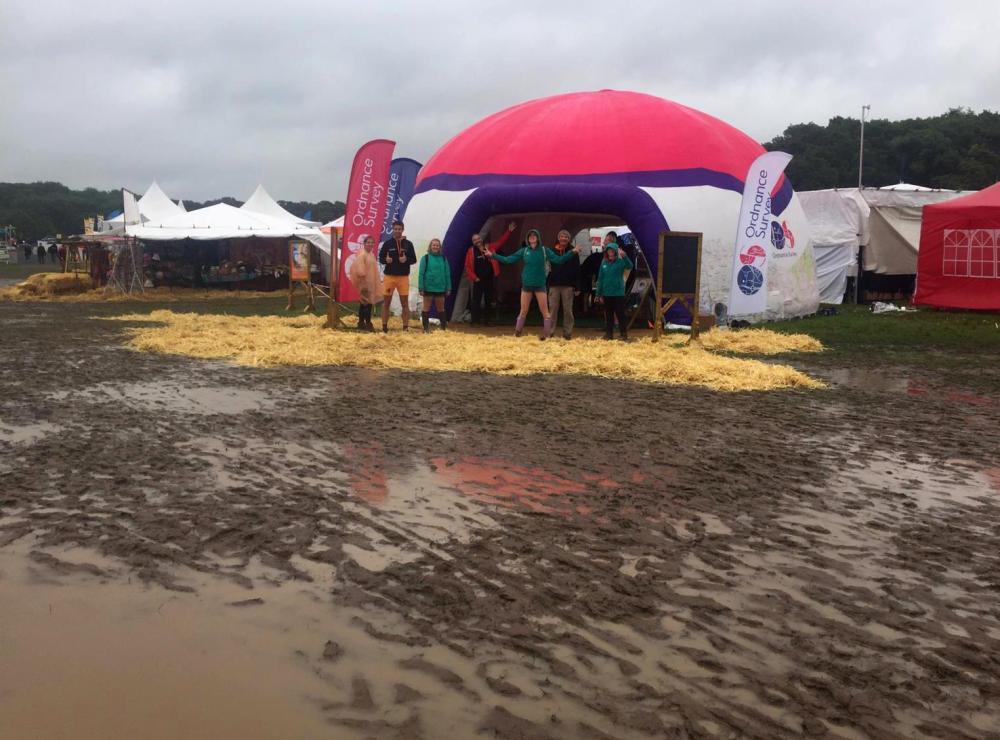Splodz Blogz | Ordnance Survey in the Mud at CarFest 2019
