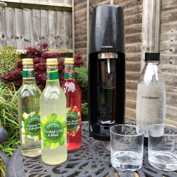 REDUCE PLASTIC AND SAVE MONEY WITH SODASTREAM