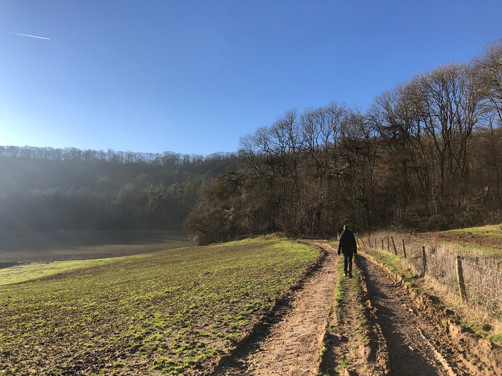 Splodz Blogz | Hiking from Winchcombe to Belas Knap