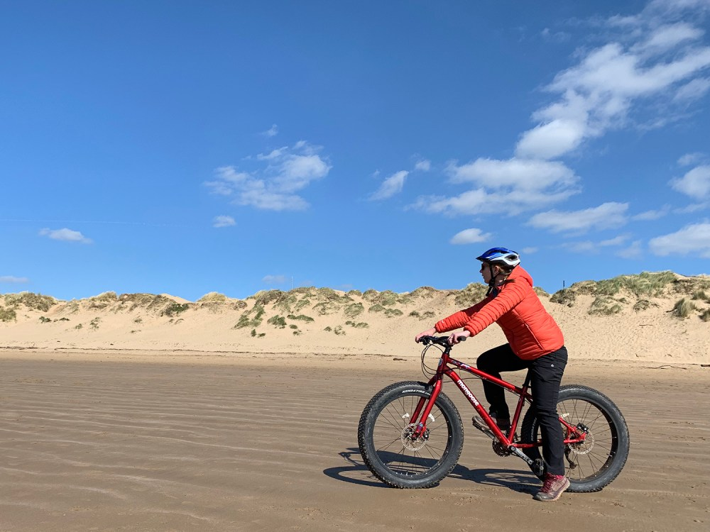 Splodz Blogz | Fat Biking in Porthcawl, Love the Valleys