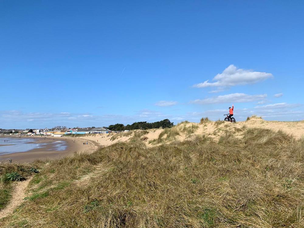Splodz Blogz | Fat Biking in Porthcawl, Love the Valleys