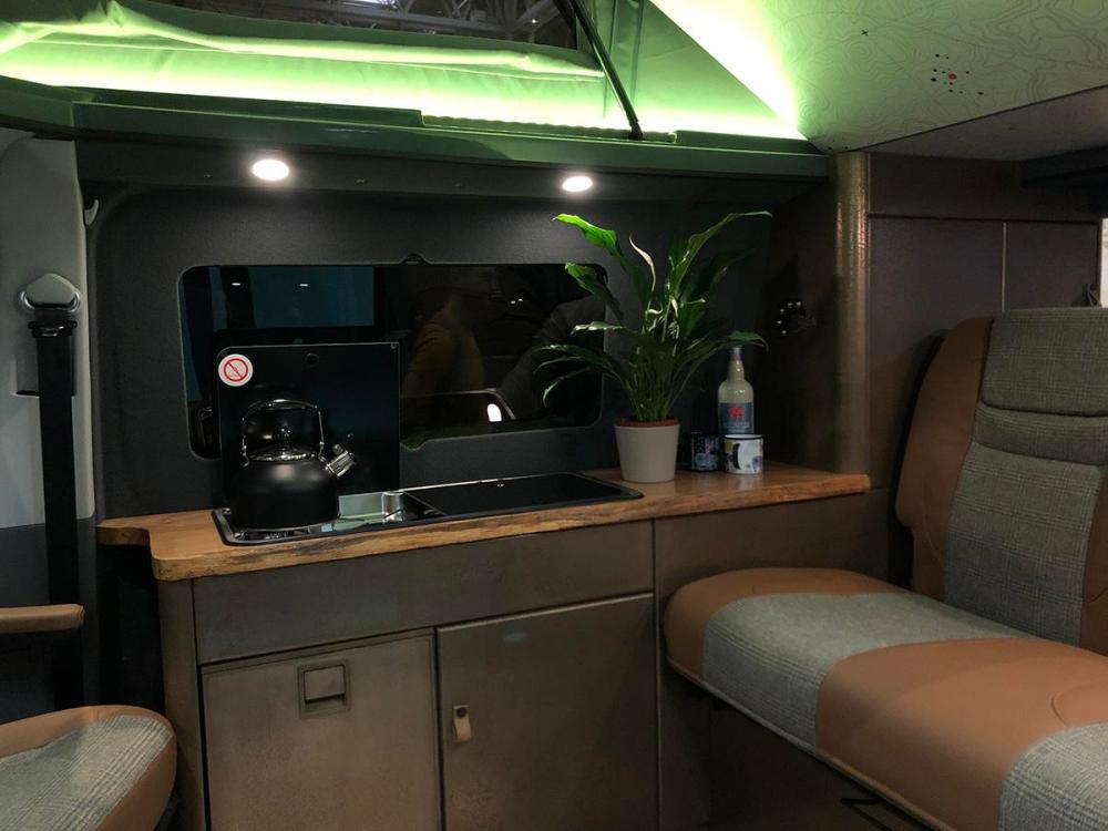 Splodz Blogz | Campervan Conversion Interior - Dirty Weekenders