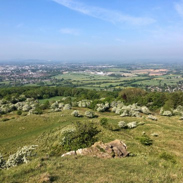 HIKING THE COTSWOLDS | A SHORT WALK THROUGH QUEEN'S WOOD AND OVER CLEEVE HILL