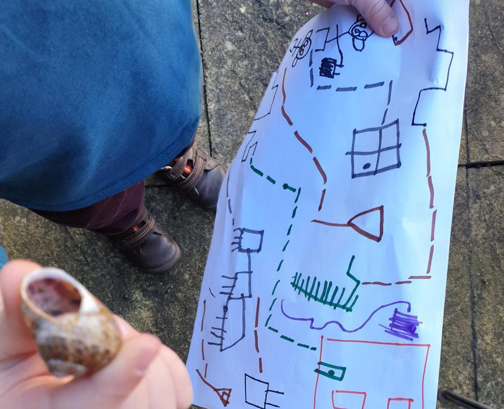 Splodz Blogz | GetOutside Activity Inspiration for Lock Down - Treasure and Trail Maps