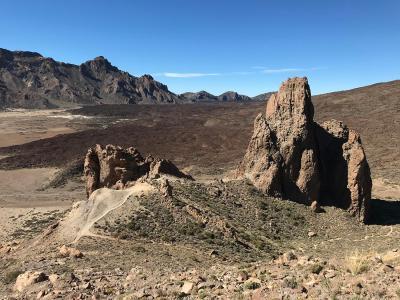 Splodz Blogz | Hiking Tenerife - Roques de Garcia