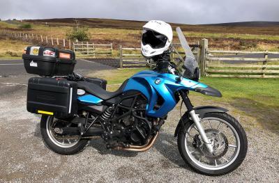 Splodz Blogz   BMW F650 GS Motorcycle