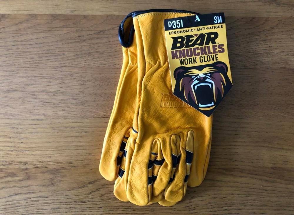 Splodz Blogz | Bear Knuckles Double Wedge Gloves