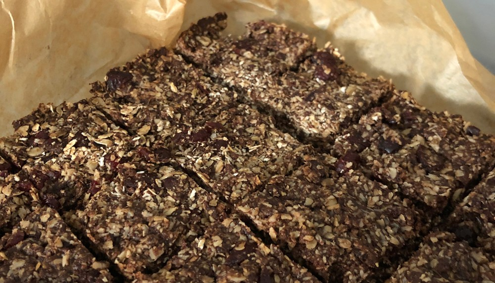 Splodz Blogz | Chocolate and Cranberry Flapjack