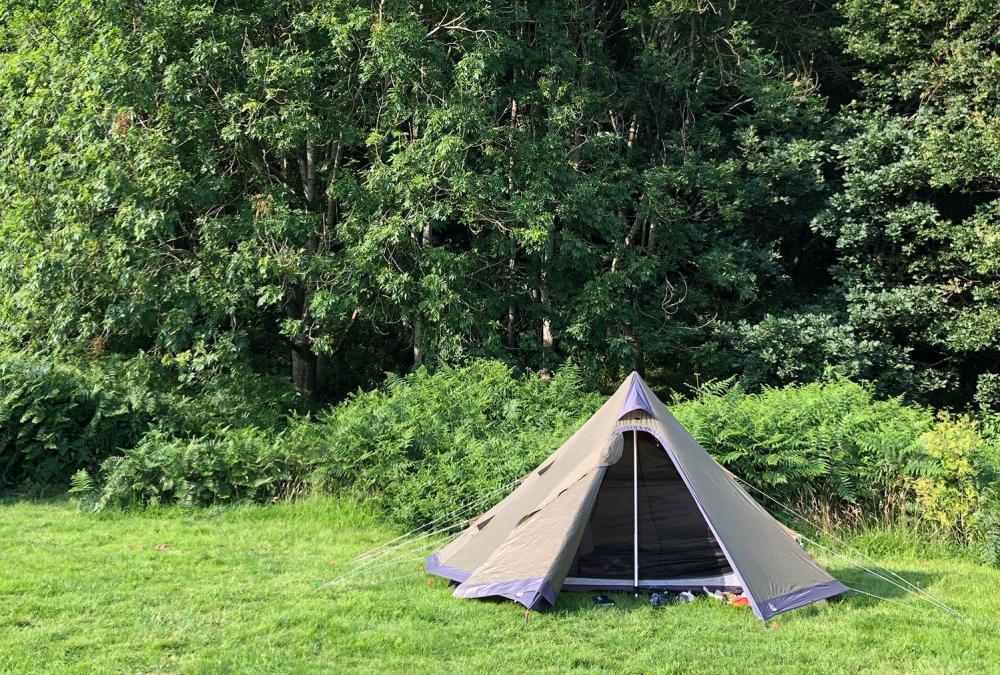 Splodz Blogz   Robens Green Cone at YHA Wye Valley