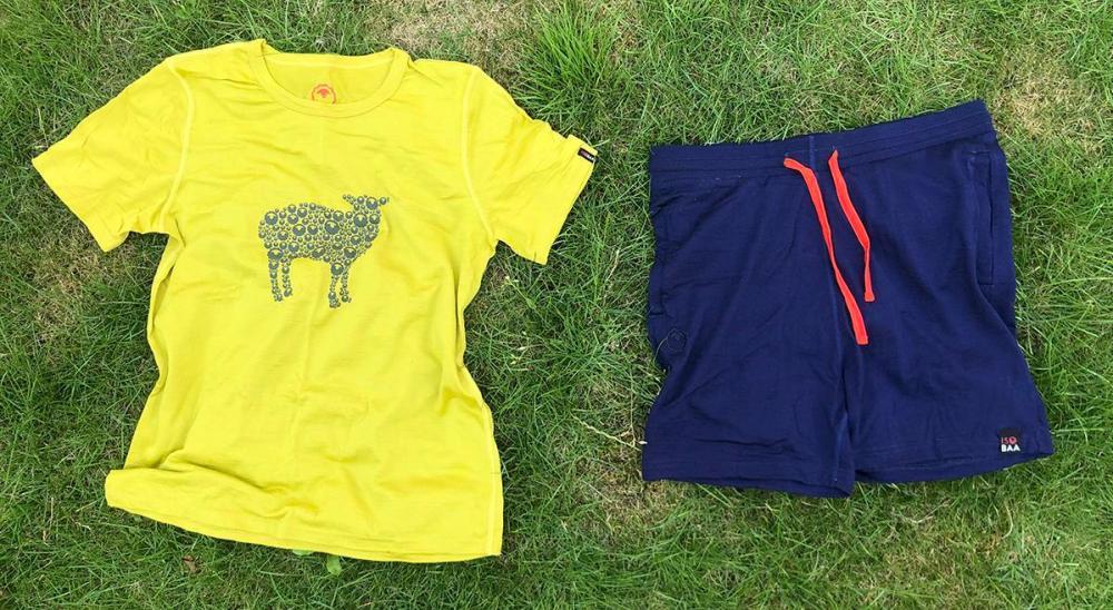 Splodz Blogz | Isobaa Merino 150 Basic Tee and Shorts