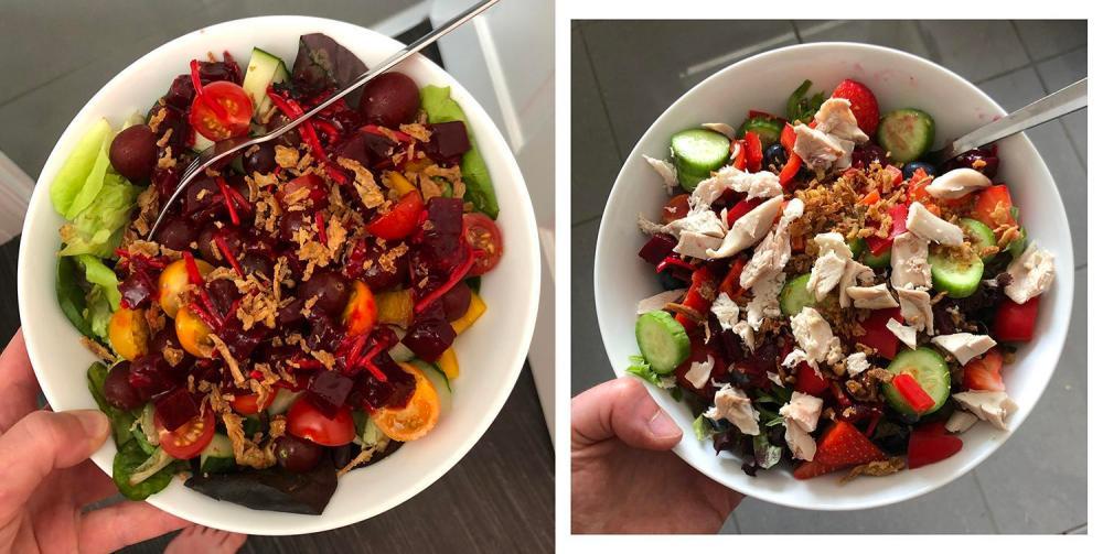 Splodz Blogz   Colourful Salad Bowls
