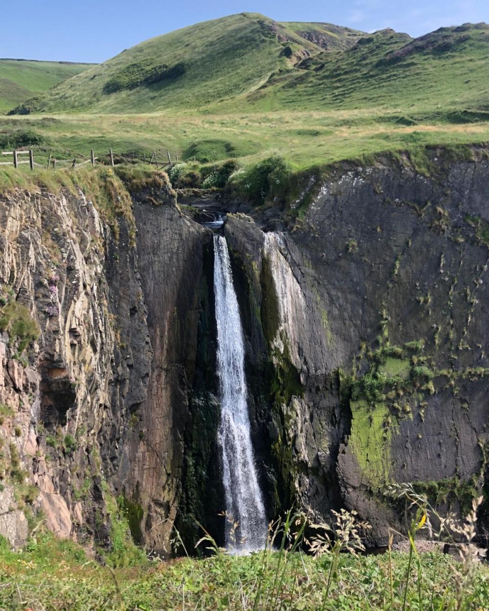 Splodz Blogz | Speke's Mill Waterfall, Hartland Peninsula