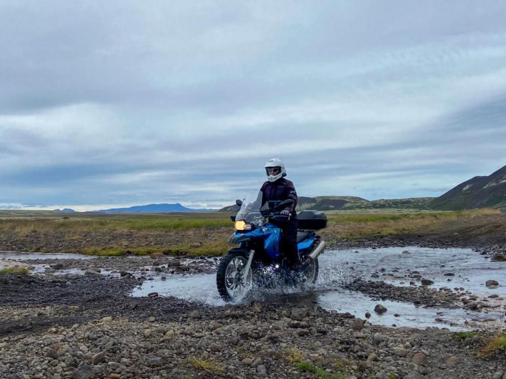Splodz Blogz   Water Crossing on a Dirt Road