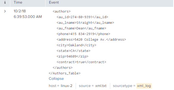 Extract Fields from XML logs in Splunk - Splunk on Big Data