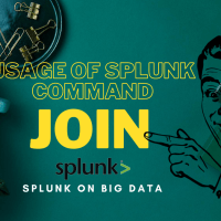 Usage Of Splunk Commands : Join