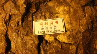 Land Mine Zone! Oh-oh.