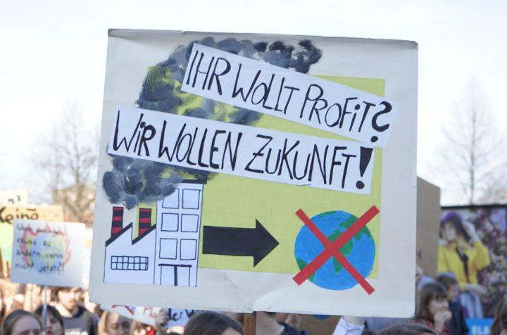 In der sächsischen Landeshauptstadt auf der Straße