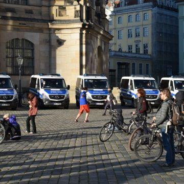In der Landeshauptstadt waren 250 Beamte im Einsatz.