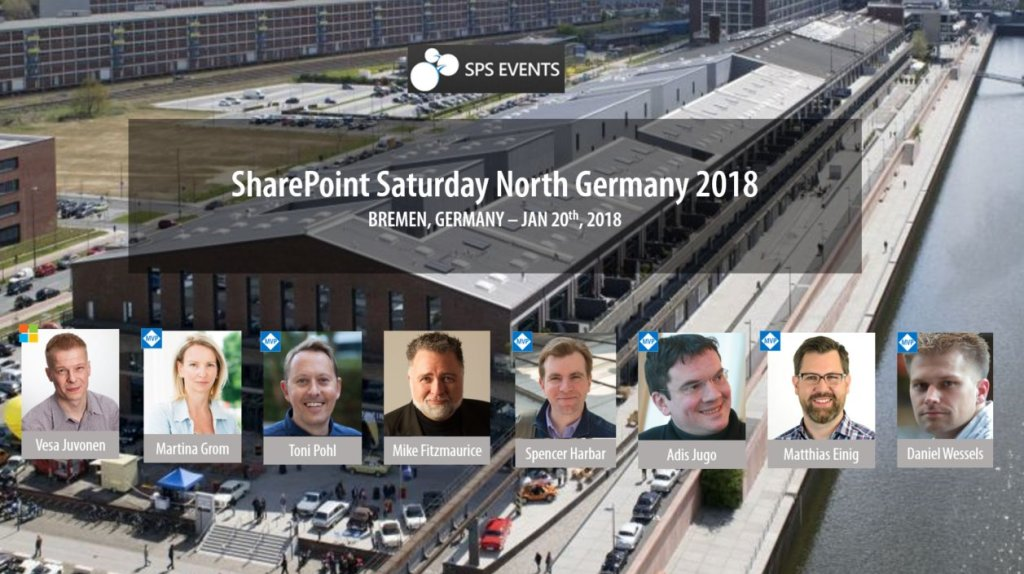 SharePoint Saturday Bremen Speaker