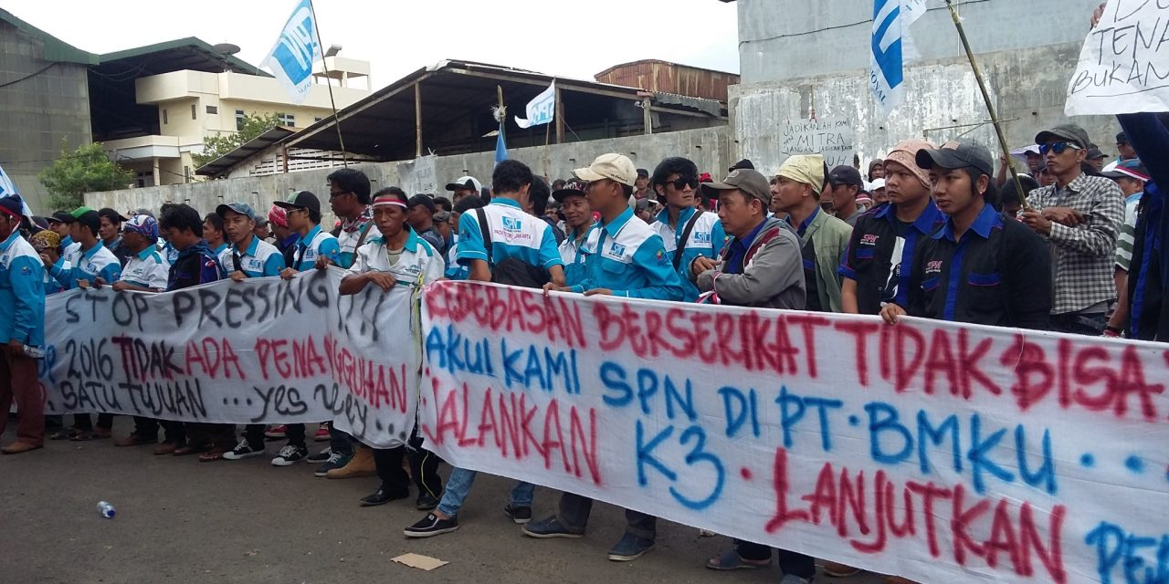 PSP SPN PT BAJA MARGA KHARISMA UTAMA (BMKU) MENUNTUT UMSP