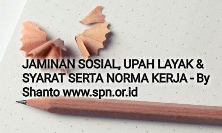 JAMINAN SOSIAL, UPAH LAYAK & SYARAT SERTA NORMA KERJA