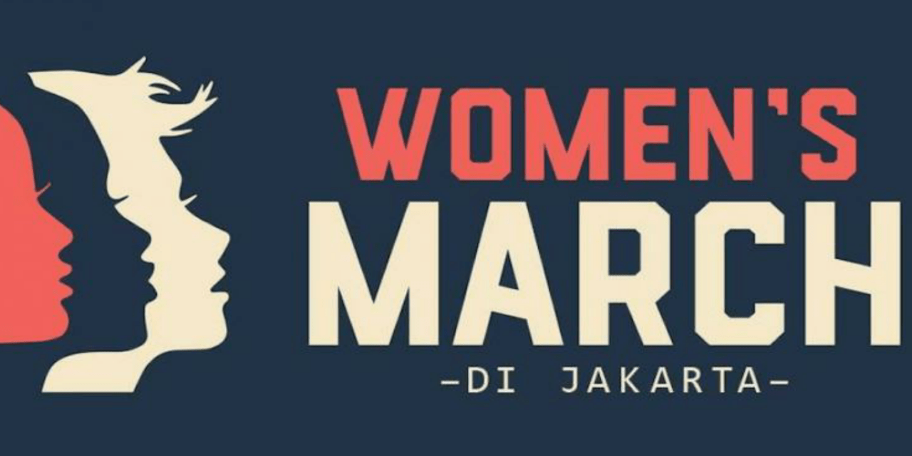 AKSI WOMEN'S MARCH 2018 INDONESIA