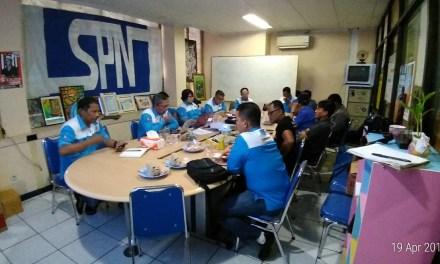 PERSIAPAN DPP SPN JELANG MAY DAY 2018