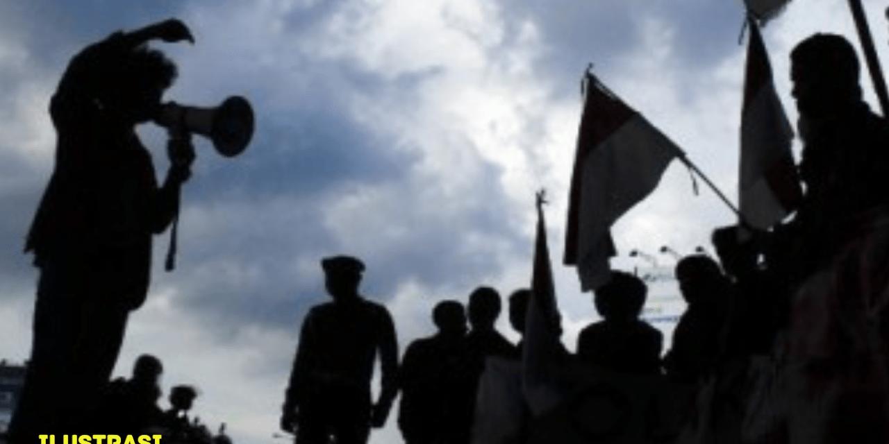 BURUH SUBANG MENUNTUT PEMBATALAN PERGUB NO 54/2018 DAN PP NO 78/2015