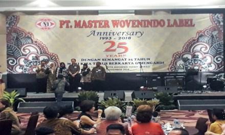 25 TAHUN PT MASTER WOVENINDO LABEL