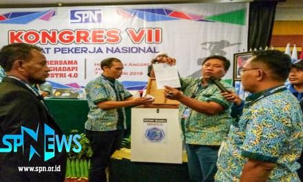 PEMILIHAN KETUA UMUM DPP SPN PERIODE 2019 – 2024