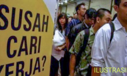 PENGANGGURAN DI JAWA BARAT MENEMPATI URUTAN TERTINGGI DI INDONESIA