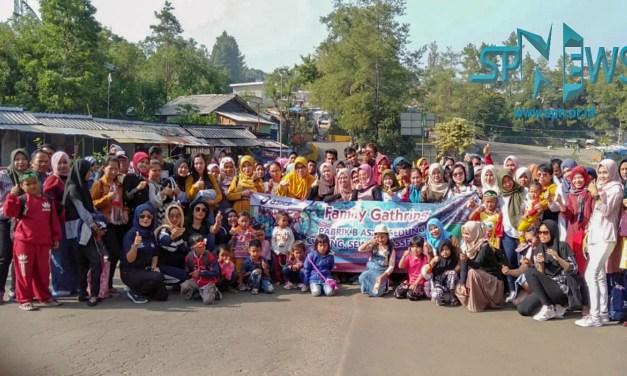 FAMILLY GATHERING KELUARGA BESAR GEDUNG 1 FACTORY B PT POUCHEN INDONESIA KAWASAN INDUSTRI NIKOMAS GEMILANG