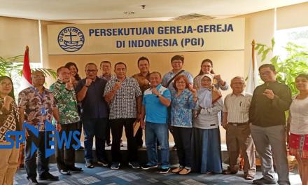 TOLAK OMNIBUS LAW, DPP SPN MENGGALANG DUKUNGAN DENGAN PGI