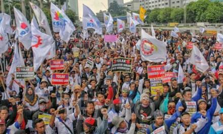 ITUC MEMINTA PRESIDEN RI HENTIKAN PEMBAHASAN RUU CIPTA KERJA