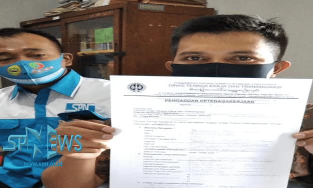 PT SAMKU GLOVE INDONESIA DILAPORKAN DENGAN DUGAAN TIDAK MEMBAYARKAN IURAN BPJS TK PEKERJANYA