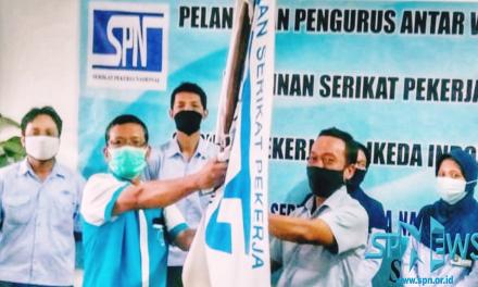 PELANTIKAN PENGURUS ANTAR WAKTU PSP SPN PT IKEDA INDONESIA