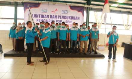 PELANTIKAN KEPENGURUSAN BARU PSP SPN PT EAGLE NICE INDONESIA