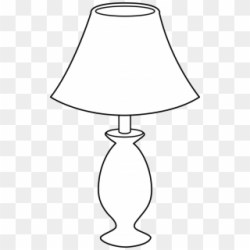 Lamp Clipart Black And White Png