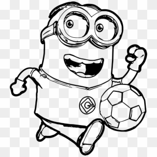 Minion Ball Run Coloring Page Free Printable Minion Coloring Pages Hd Png Download 1200x1341 565732 Pngfind