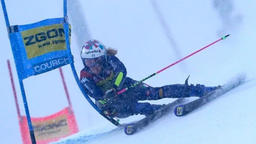 Marta Bassino Successful Driving With Aggressive Skiing Alpine Skiing De24 News English