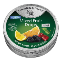 Cavendish & Harvey Drops - Mixed Fruit (Sugar Free) 175g