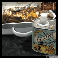 African Rub Ribs