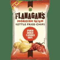 Flanagan's Kettle Fried Chips - Spanish Chorizo 125g