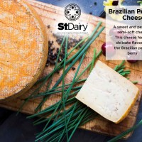 St Dairy Cheese - Brazillian Pepper per kg (Available on Pre-order)