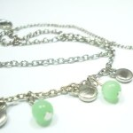 Glass Beaded Anklet Bracelet