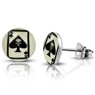 stainless steel stud earrings
